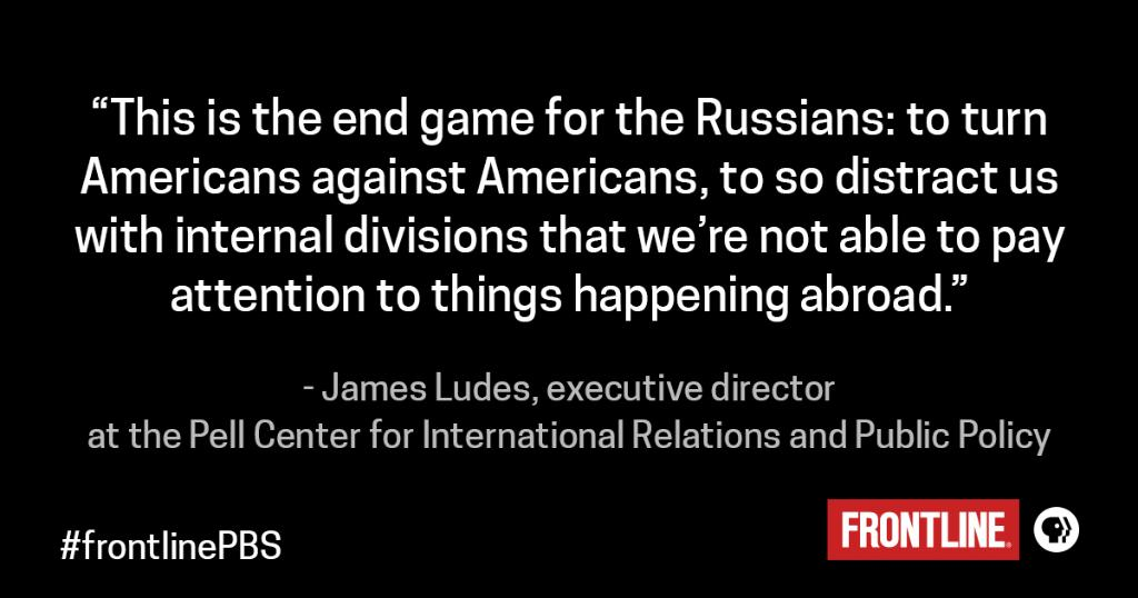The election is over, but Russian disinformation hasn't gone away. https://t.co/i9bmGUWuKb