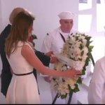 訪日直前のトランプは真珠湾の犠牲者達に献花し、「真珠湾を忘れない。アリゾナを忘れない」と日本に入国せ…