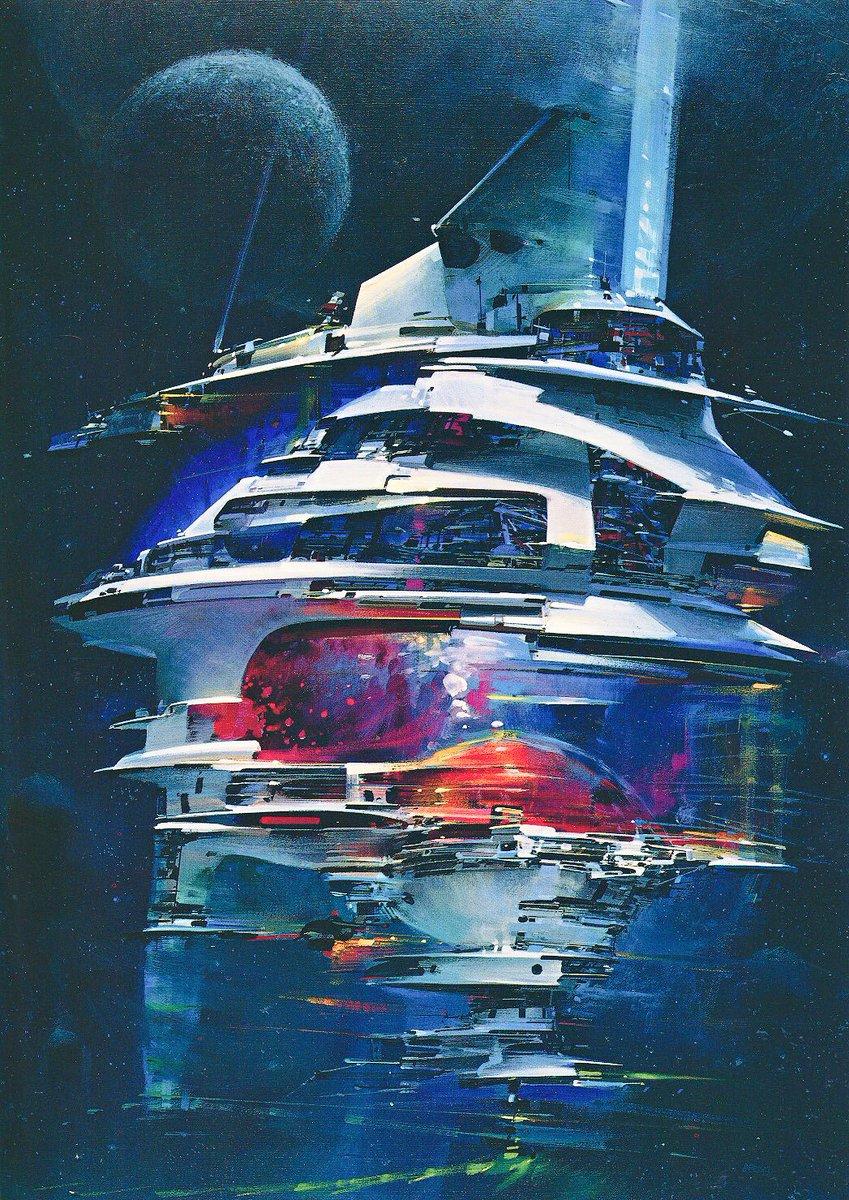 Scifi Art On Twitter 1970s Era John Berkey Art