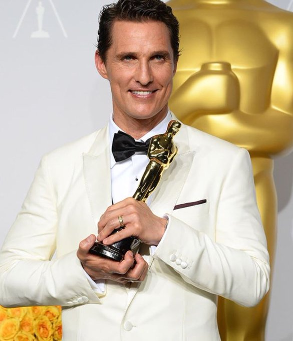 Happy 48 Birthday to Oscar winner Matthew McConaughey