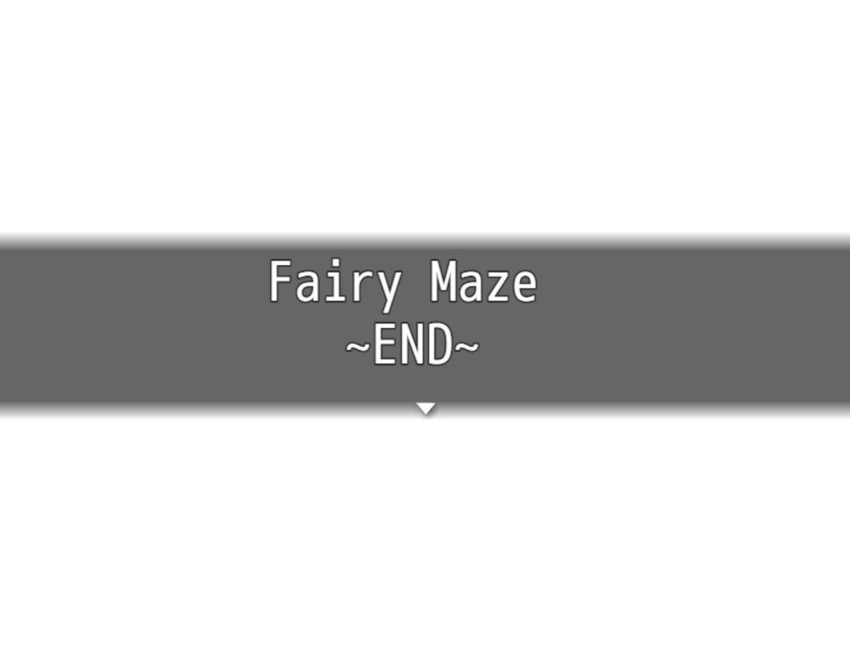 fairy maze rpg
