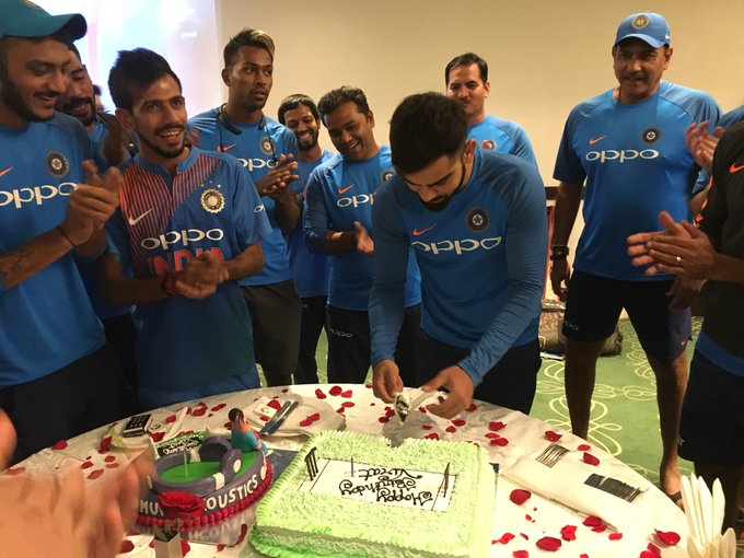 .all the best. captain of Indian cricket  and I love you...