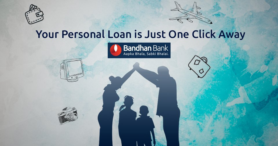 One Click Loan >> Bandhan Bank On Twitter Your Personal Loan Is Just One