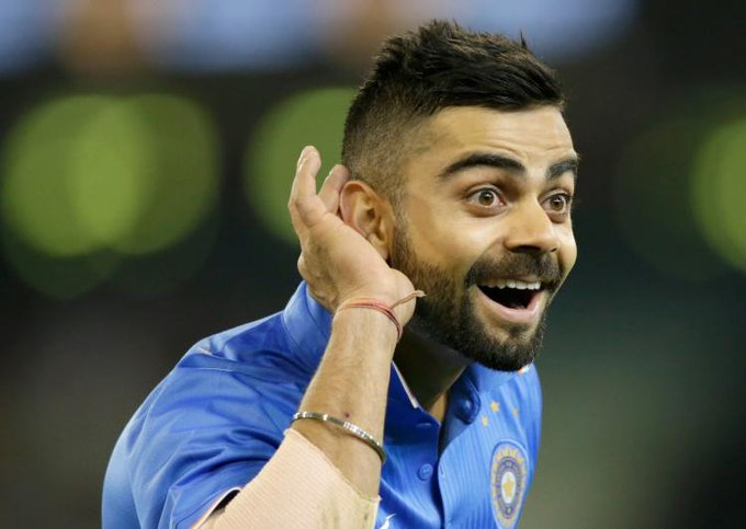 "Happy birthday to you Virat Kohli the ""RUN MACHINE\"" and many many happy returns of the day to you........"