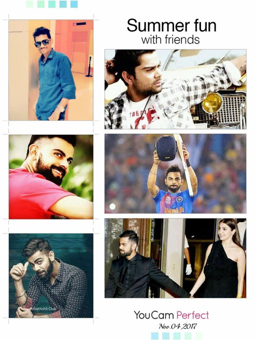 Virat kohli in my heart... Happy Birthday Sir..