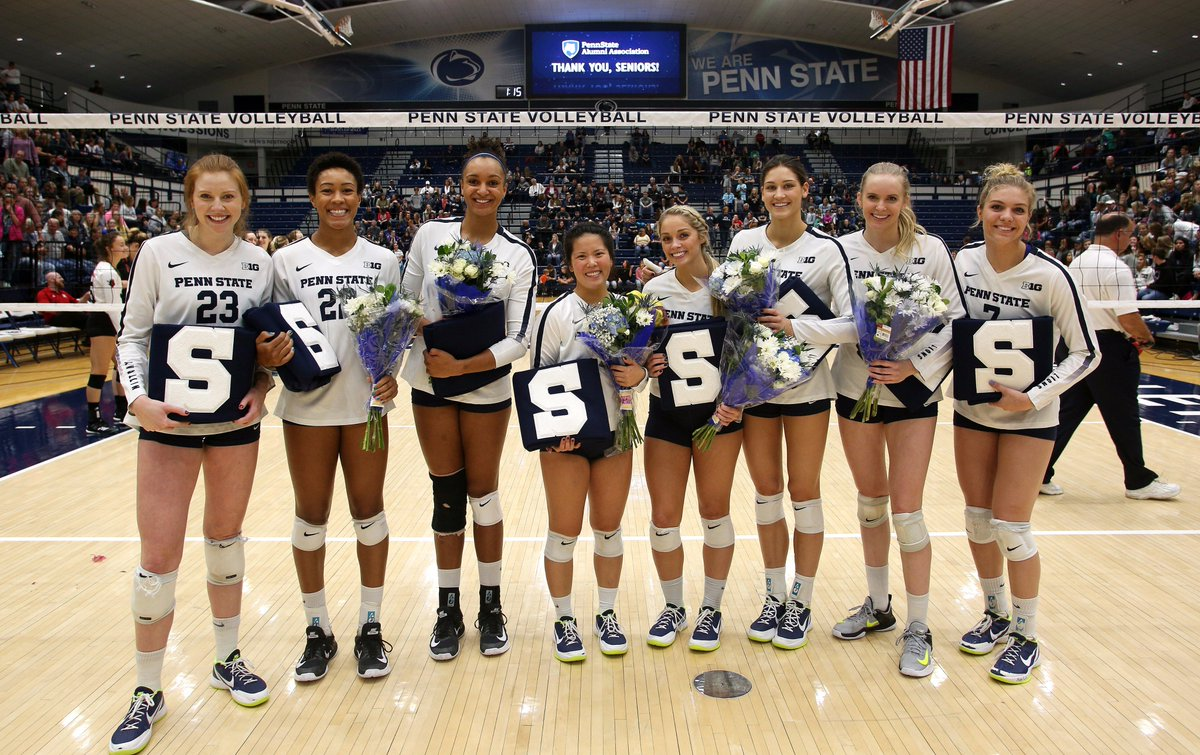 Penn State Women S Volleyball On Twitter No 1 Nittany Lions Bring Home Win On Senior Night Https T Co Wg5vnntcg7
