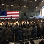 Deeply honored to join @POTUS, saluting our troops…