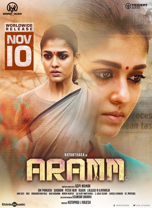 #5DaysToGoForAramm - Worldwide Release on November 10🎥! Collector #Madhivadani in action💥 https://t.co/fuVOwPtI3a