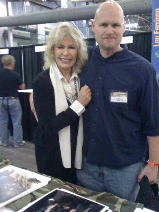 Happy Birthday to Loretta Swit! Meeting her was one of the great moments of my life.