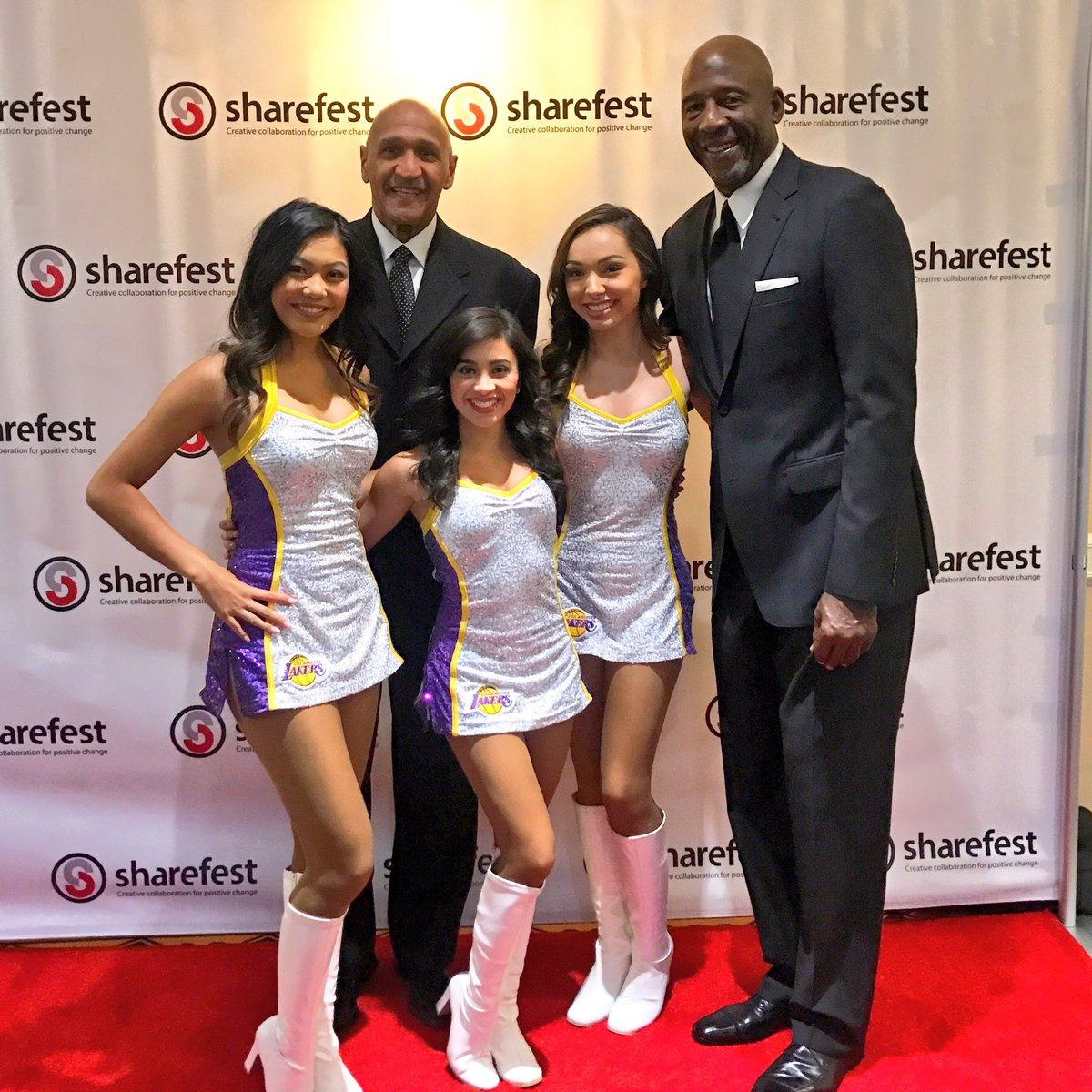 "Laker Girls on Twitter ""Honored to be there to see Stu Lantz"