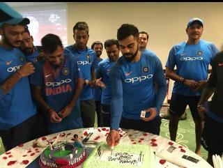 Happy birthday my dear thala virat kohli