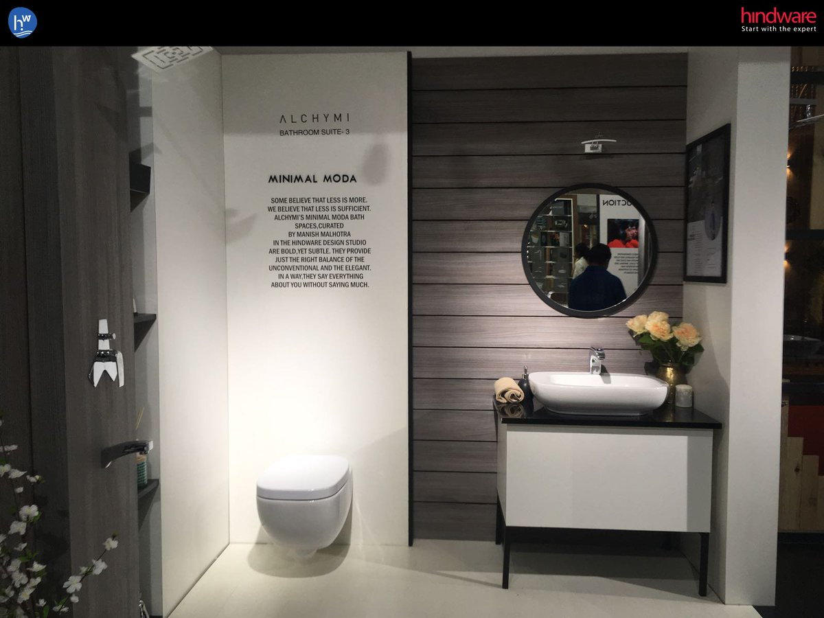 "hindware_homes on Twitter: ""Last day to catch a glimpse of ALCHYMI"