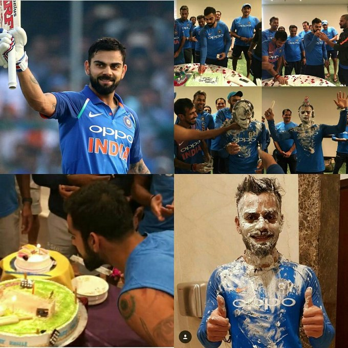 HAPPY BIRTHDAY TO THE INDIAN CAPTAIN SIR VIRAT KOHLI THE RUN MACHINE
