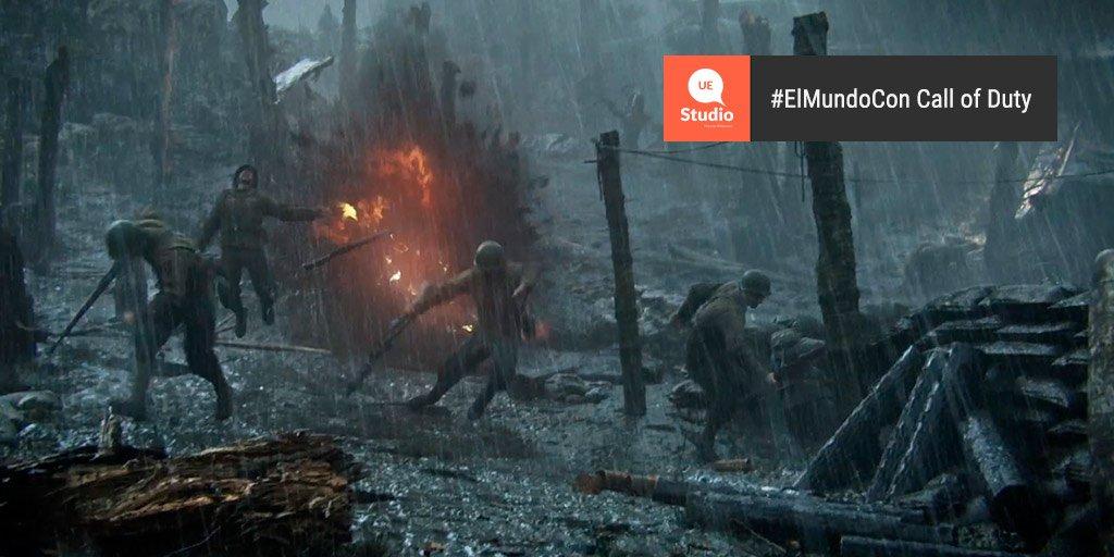 #ElMundoCon Call of Duty Vive la II Guerra Mundial con CALL OF DUTY WWII  https:// trib.al/WpADE2P    <br>http://pic.twitter.com/PwyeeQ7KBL