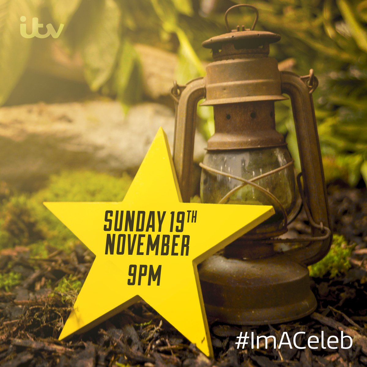 Forget Christmas, this is the ONLY date you need to remember this year.  Sunday 19th November. #ImACeleb