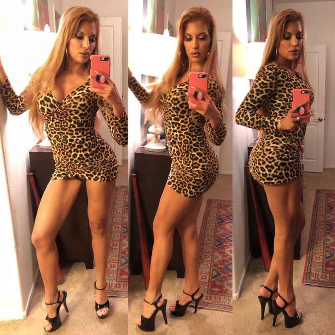 Going out like a 70s mob bitch. #leopard #disco #cougar #milf #ontheprowl #nightlife https://t.co/Bj