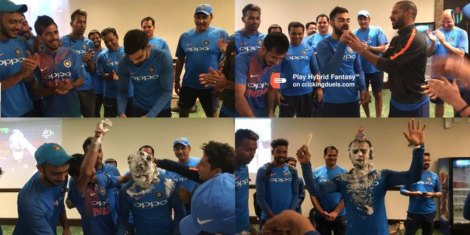 Happy birthday Virat Kohli!