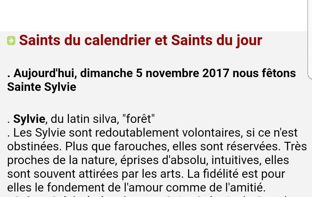 #BonneFête à toutes les #Sylvie !!!!et bon dimanche à tous pic.twitter.com/LZyowUa6EB