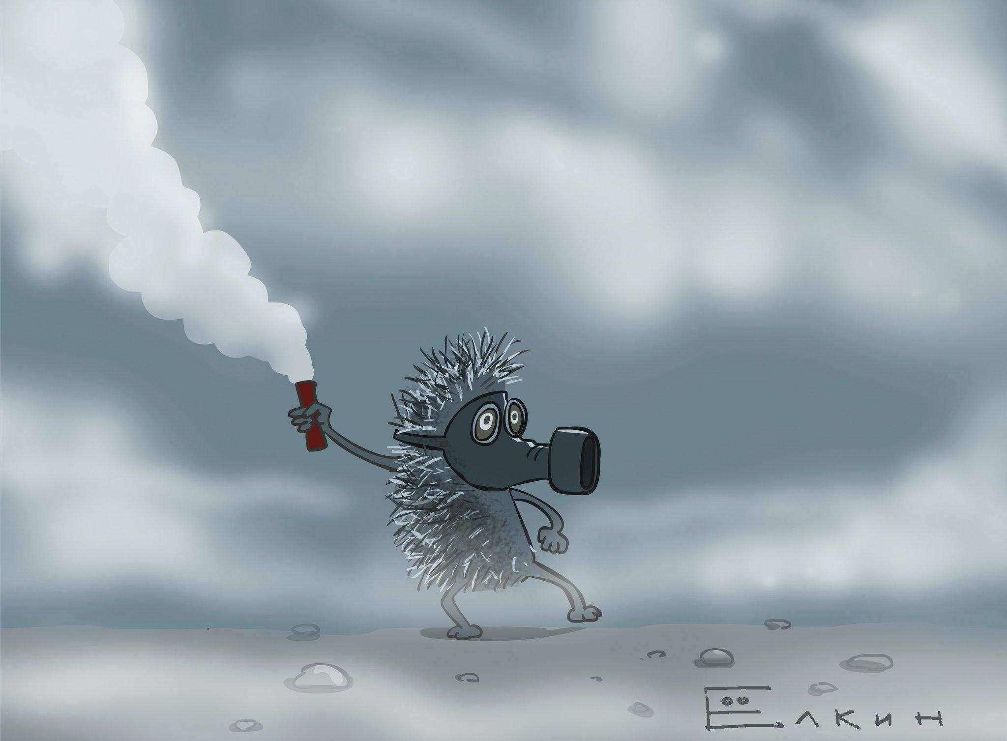 если будет прикольные картинки ежик в тумане детки