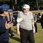 素晴らしい友人とのゴルフ。会話も弾みます。A round of golf with a marvel…