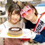 スペシャルステージ早めのお誕生日会 😎🎂🎉20歳は村山彩希さんにバックハグしてもらえる年にしたいとお…
