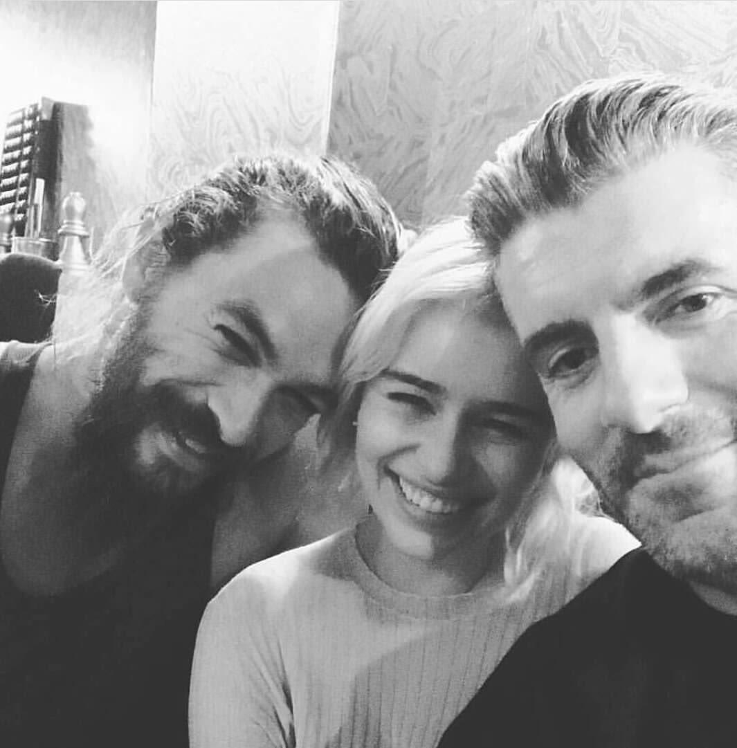 "Emilia Clarke Fans* On Twitter: ""Emilia Clarke With Jason"