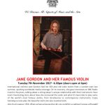 Jane Gordon at the next ClassicUs Talk this coming Tuesday at Opus Theatre. Don't miss it. @classicusmusic @OpusHastings