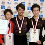 西日本シニア男子❄️日野龍樹選手が連覇✌🏻✨ガッツポーズが飛び出す会心の演技でした😊✊🏻ブロック大会…