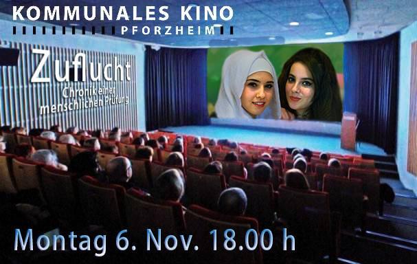#Doku ZUFLUCHT 6.Nov, 18h KommunalesKino #Pforzheim Schloßberg20 #Integration statt Hass #RefugeesWelcome #Karlsruhepic.twitter.com/6YsAEJLnxw