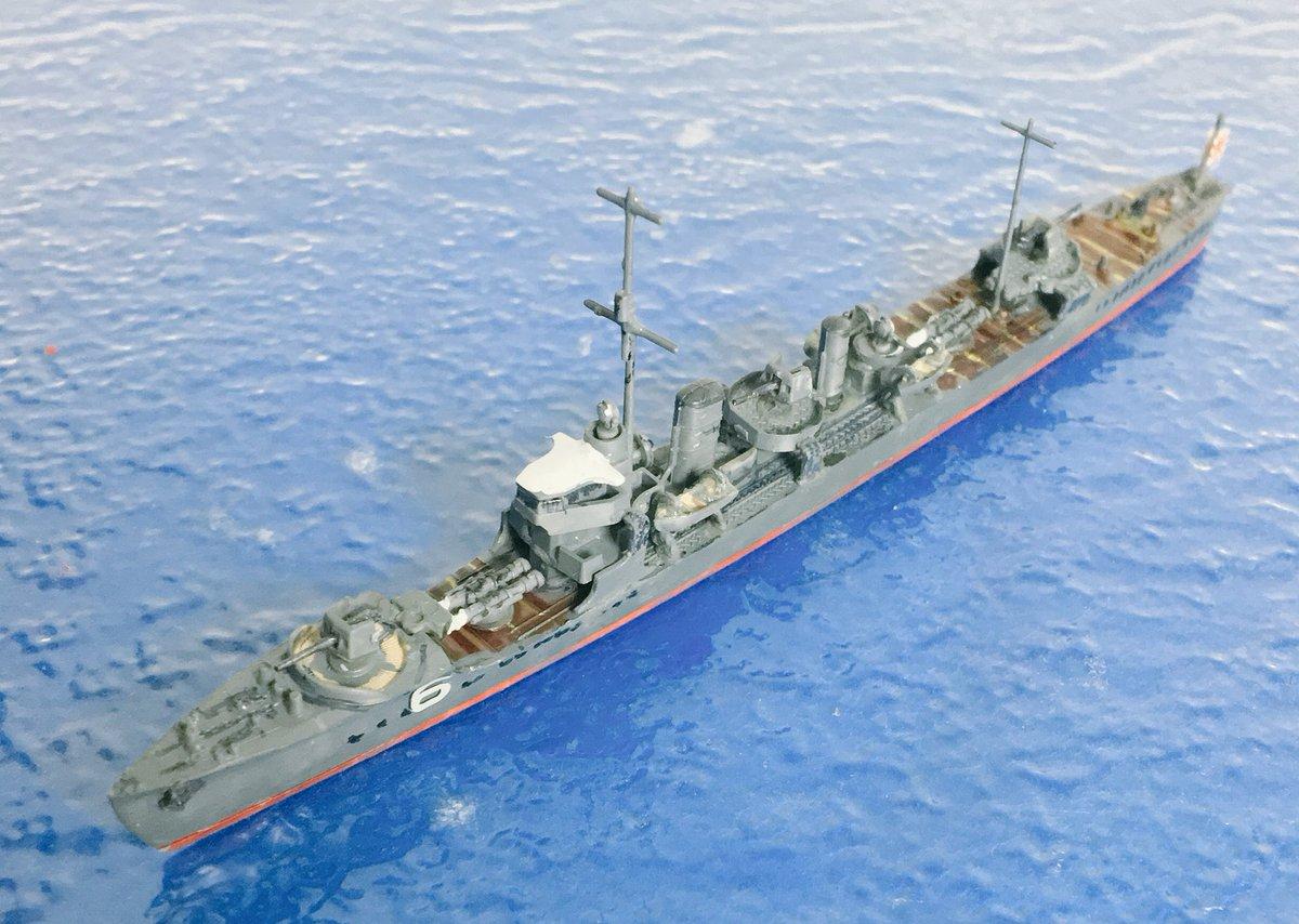 """めめ六 on Twitter: """"若竹型駆逐艦3番艦早苗です。1922年4月浦賀で第六 ..."""