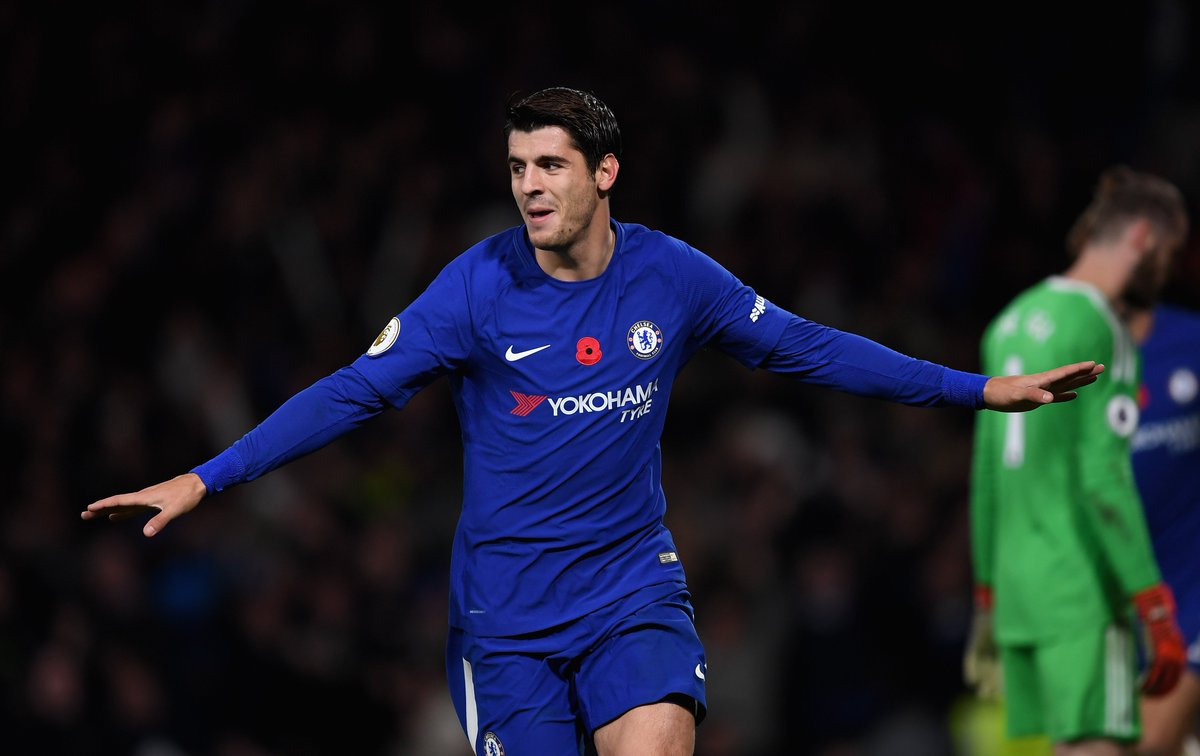 Full-time: Chelsea 1-0 Man Utd   @AlvaroMorata's brilliant header secures the three points for the Blues!   WHAT A WIN! #CHEMUN