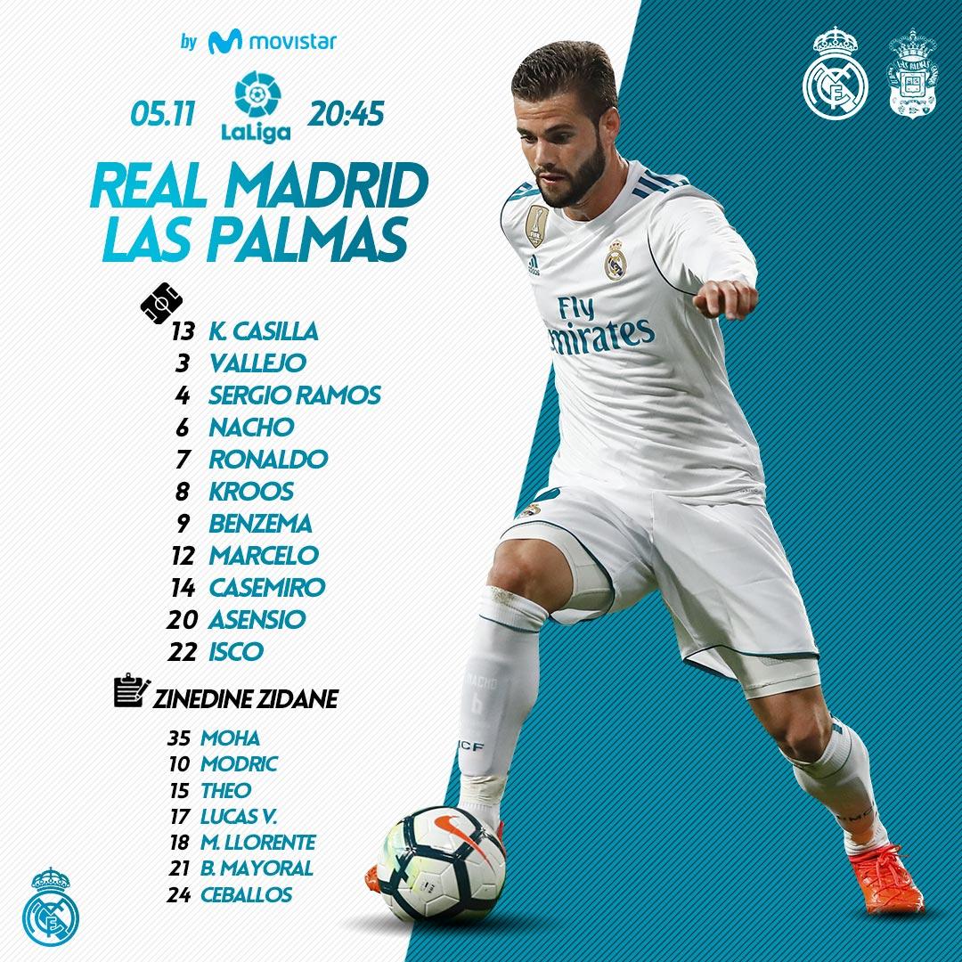 Real Madrid vs Las Palmas DN47GnmW0AAJMpj?format=jpg