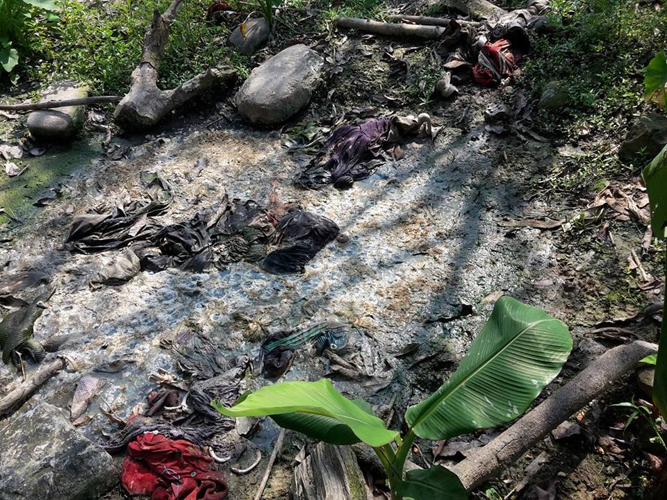 """Ro Nay San Lwin on Twitter: """"Mass grave in #GudaPyin VT, # ..."""