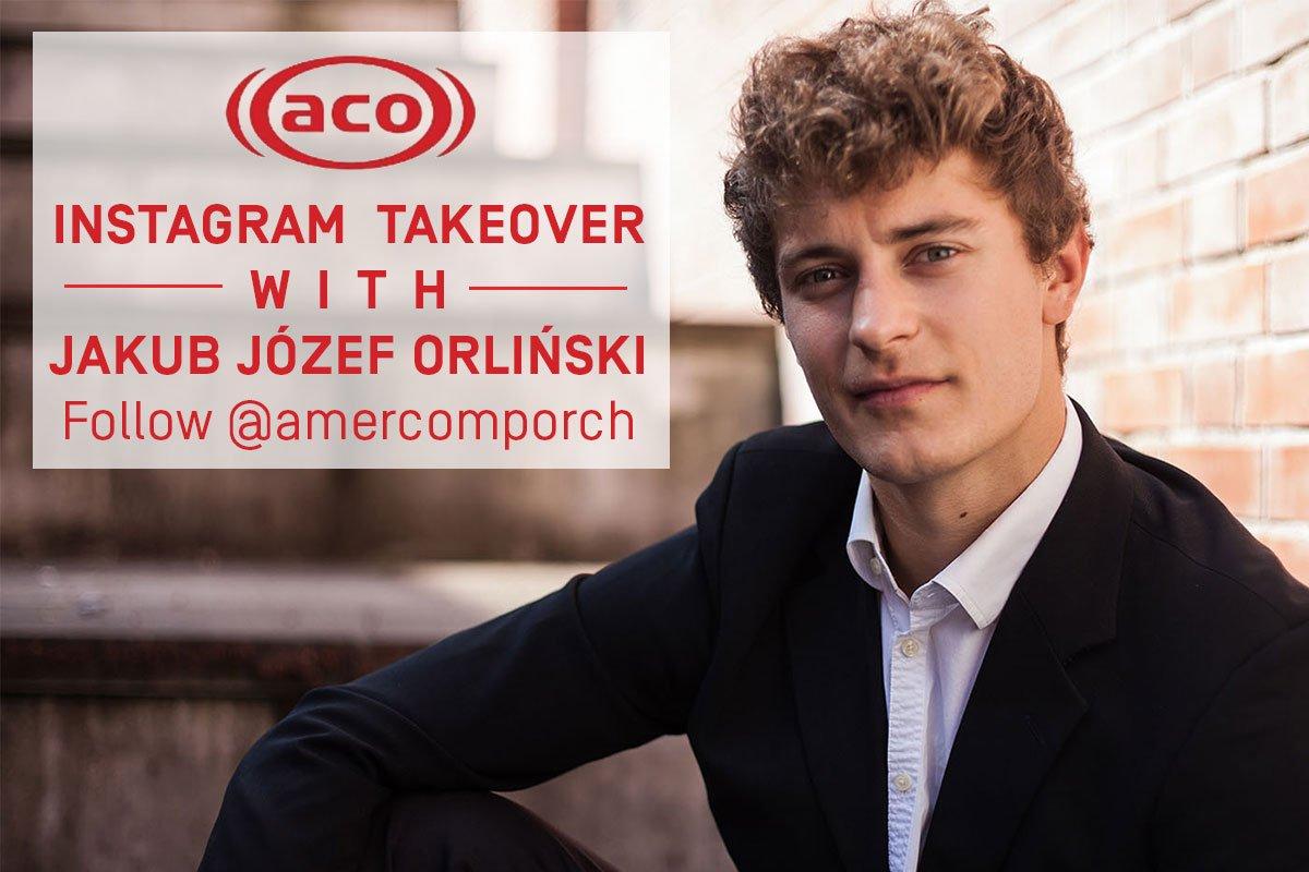 American Composers Orchestra On Twitter Jakub Jozef Orlinski