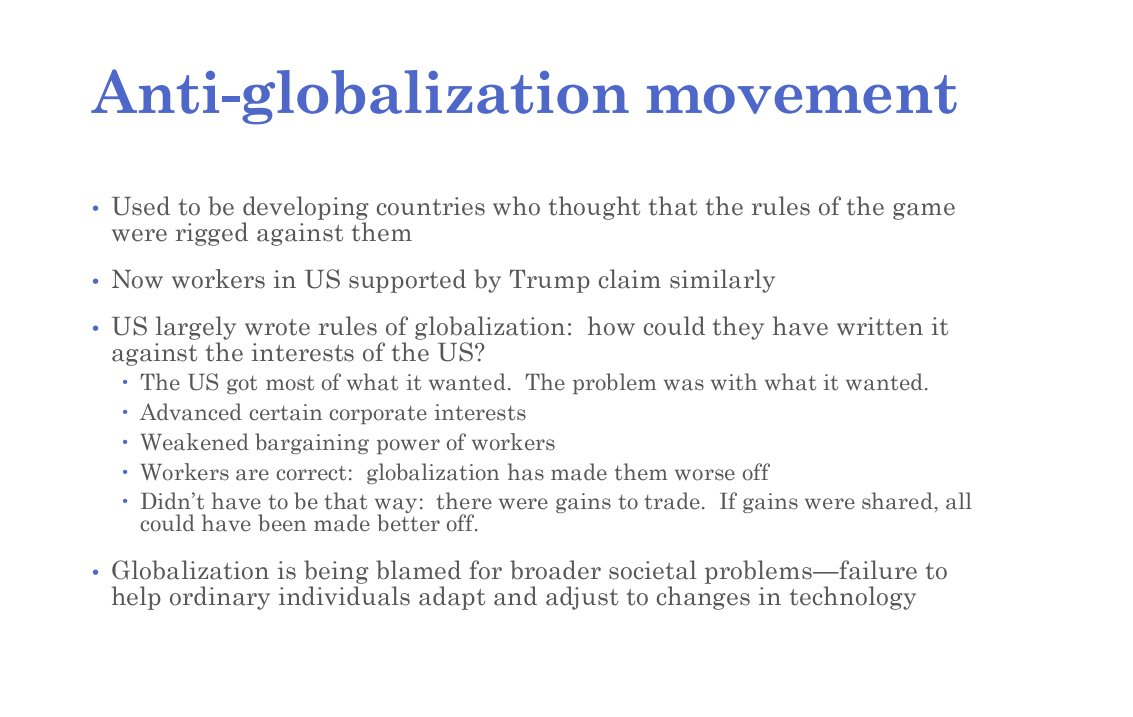 he anti globalisation movement essay The opponents and supporters of neoliberalism this essay has a further naomi klein asserts that the term anti-globalisation movement can be used to.