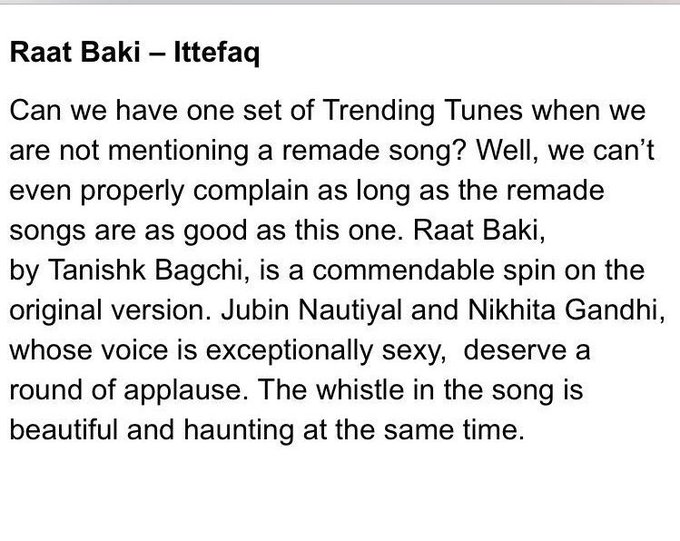 Thank u @bollywood_life for your wonderful review on #ittefaqse ... thanks to all those who loved the movie and the song #elated @azeem2112 https://t.co/Ief3l0bA0y