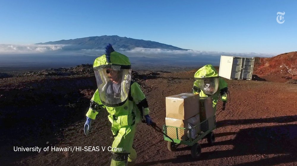 The 6 crew members living in isolation for a nasa-funded study exit their habitat in hawaii after 8 months - scoopnest.com - 웹