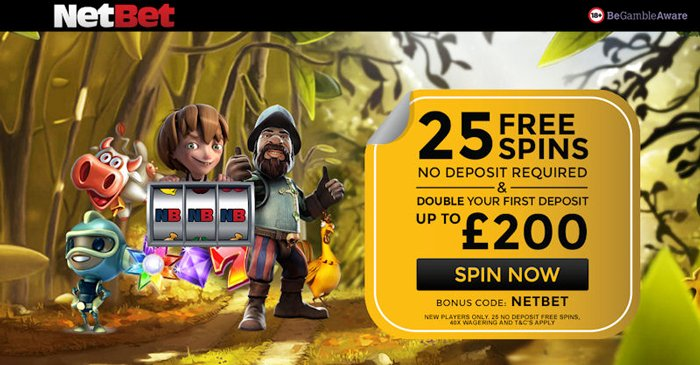 Netbet Casino No Deposit Free Spins