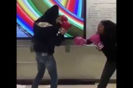 Wayment: Ol Girl Had No Idea She Signed Up For The Advanced Class!  http:// repostqueen.com/wayment-ol-gir l-had-no-idea-she-signed-up-for-the-advanced-class/ &nbsp; …  #RepostQueen #Knockedout #fight #Punched #Boxing<br>http://pic.twitter.com/7bS78kmJdP
