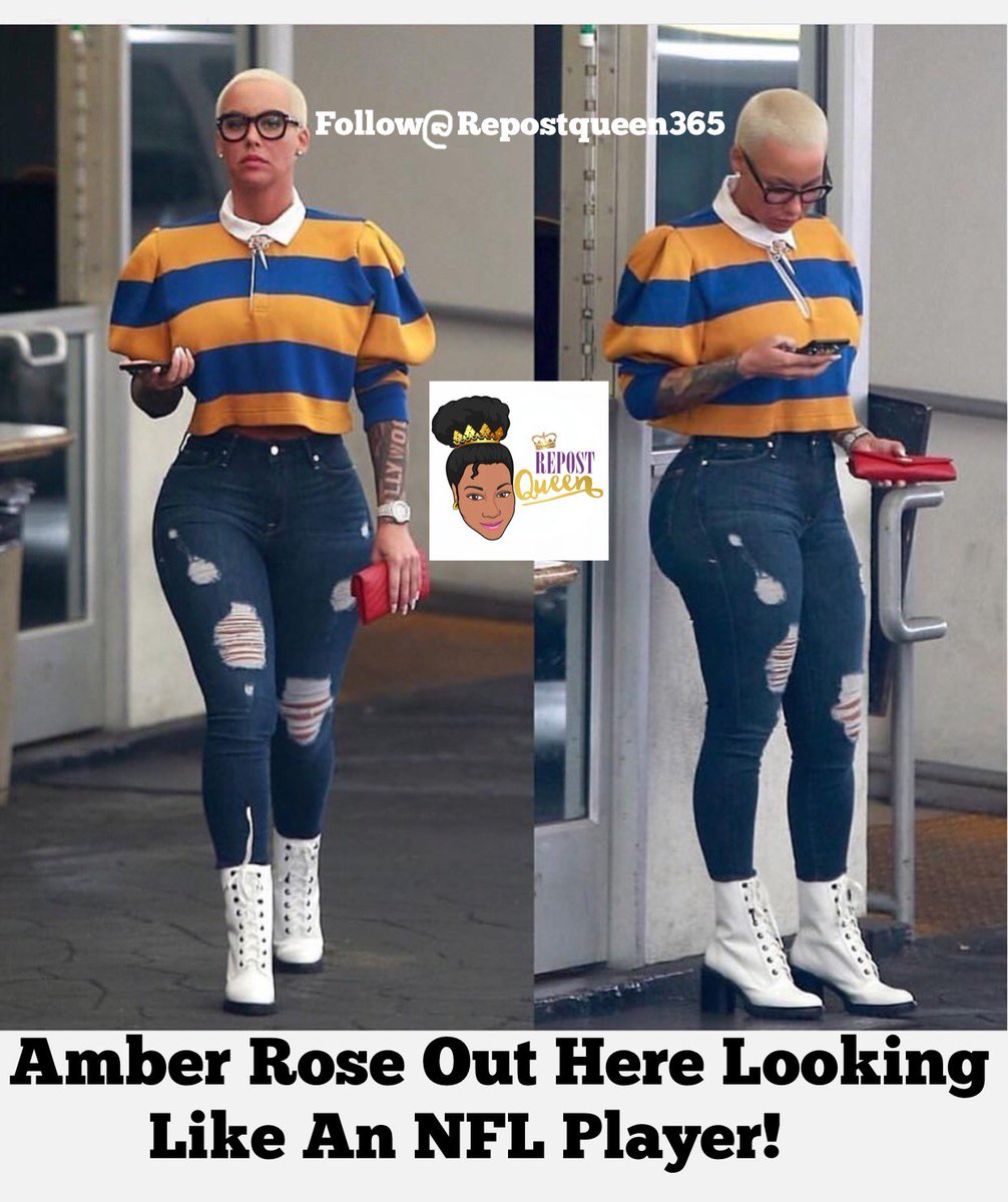 Amber Rose Out Here Looking Like An NFL Player  http:// repostqueen.com/amber-rose-out -here-looking-like-an-nfl-player/ &nbsp; …  #RepostQueen #AmberRose #NFL #LOL #Jokes #Fail #Crying #CelebJuice<br>http://pic.twitter.com/2WgT2lp0Yv