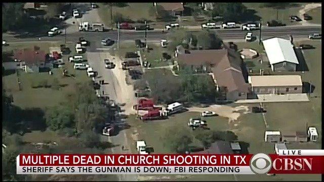 Another Gun Shooting in the USA - More than 20 dead as a gunman opens fire in a Texas Church