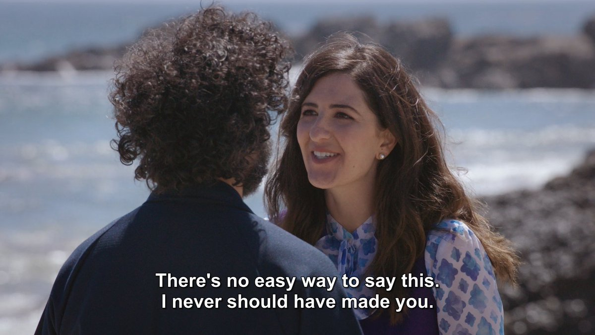 Image result for there's no easy way to say this I never should have made you the good place