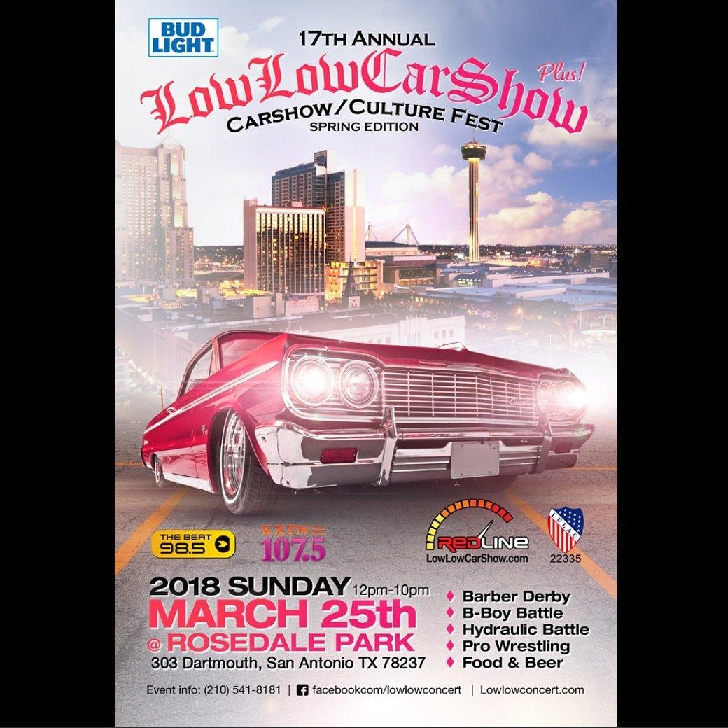 LowLow CarShow On Twitter ThAnnual LowLowCarshow - Car show in san antonio tx