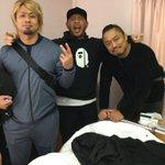 後藤とYOSHIHASHIがお見舞いに来たよ。ってか今日、退院日なんですけど。。 pic.twitt…