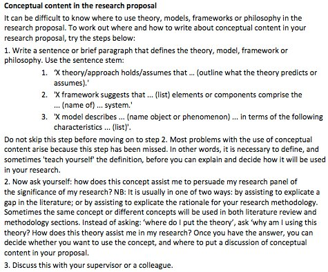how to write a methods section of a research proposal