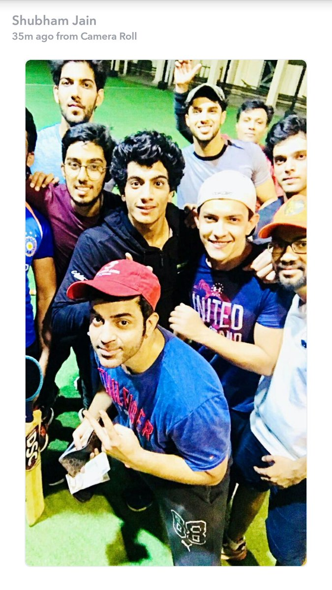 2017 05 parth samthaan family - Night Cricket With Parth Samthaan Laghateparth
