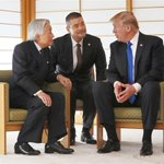 「日米関係はかつてなく良好です」と米大統領、天皇陛下に sankei.com/life/news/1…