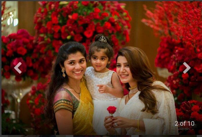 Samantha and Naga Chaitanya enjoying at a private party