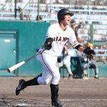 【練習試合速報】対 ハンファイーグルス戦8回の攻撃、途中出場の #田中貴也 選手がライトへのソロ本塁…