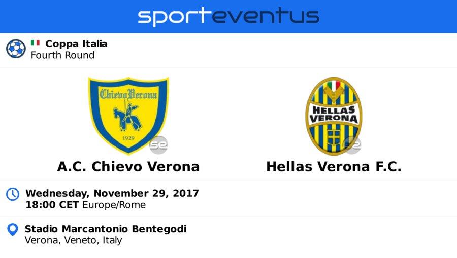 Check out #acchievoverona  #HellasVeronaFC  November 29th 18:00 CET  #CoppaItalia   Buy #tickets in-app   http:// sportevent.us/twev277452  &nbsp;  <br>http://pic.twitter.com/gNEQ3MdQd5
